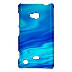 Blue Nokia Lumia 720 Hardshell Case by Siebenhuehner