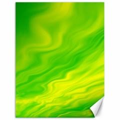 Green Canvas 18  X 24  (unframed) by Siebenhuehner