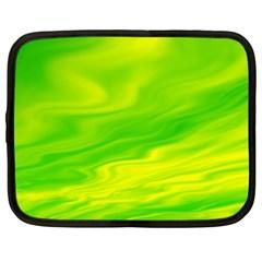 Green Netbook Case (xl) by Siebenhuehner