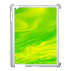 Green Apple Ipad 3/4 Case (white) by Siebenhuehner