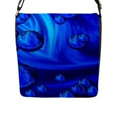 Modern  Flap Closure Messenger Bag (large) by Siebenhuehner