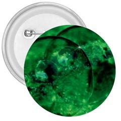 Green Bubbles 3  Button by Siebenhuehner