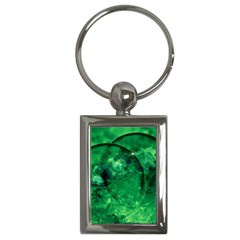 Green Bubbles Key Chain (rectangle) by Siebenhuehner