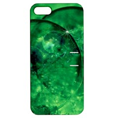 Green Bubbles Apple Iphone 5 Hardshell Case With Stand by Siebenhuehner