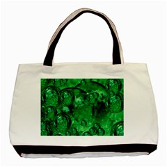 Illusion Twin Sided Black Tote Bag by Siebenhuehner