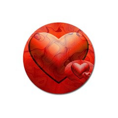Love Magnet 3  (round) by Siebenhuehner