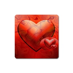Love Magnet (square) by Siebenhuehner