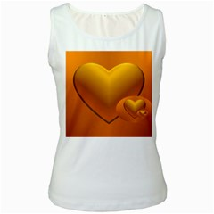 Love Womens  Tank Top (white) by Siebenhuehner