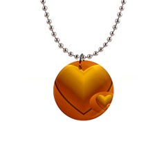 Love Button Necklace by Siebenhuehner
