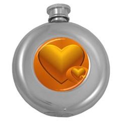 Love Hip Flask (round) by Siebenhuehner