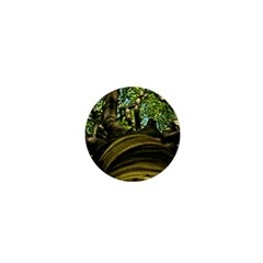 Tree 1  Mini Button Magnet by Siebenhuehner
