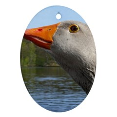 Geese Oval Ornament by Siebenhuehner