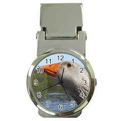 Geese Money Clip With Watch by Siebenhuehner