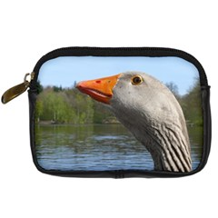 Geese Digital Camera Leather Case by Siebenhuehner