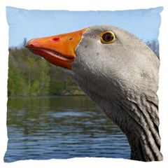 Geese Large Cushion Case (two Sided)  by Siebenhuehner