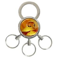 Drops 3 Ring Key Chain by Siebenhuehner