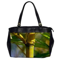 Bamboo Oversize Office Handbag (one Side) by Siebenhuehner