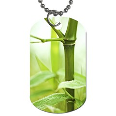 Bamboo Dog Tag (one Sided) by Siebenhuehner