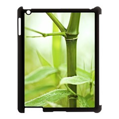 Bamboo Apple Ipad 3/4 Case (black) by Siebenhuehner