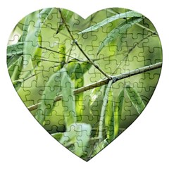 Bamboo Jigsaw Puzzle (heart) by Siebenhuehner
