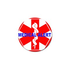Medical Alert Health Identification Sign Golf Ball Marker 10 Pack by youshidesign