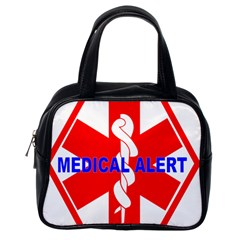 Medical Alert Health Identification Sign Classic Handbag (one Side) by youshidesign