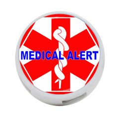 Medical Alert Health Identification Sign 4 Port Usb Hub (two Sides) by youshidesign