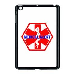 Medical Alert Health Identification Sign Apple Ipad Mini Case (black) by youshidesign