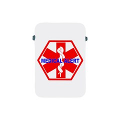 Medical Alert Health Identification Sign Apple Ipad Mini Protective Soft Case by youshidesign