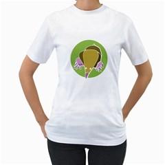 MOLE Womens  T-shirt (White)