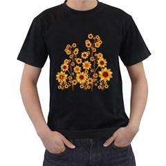 Sunflower Cheers Mens' T-shirt (Black)