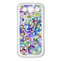Ying Yang Samsung Galaxy S3 Back Case (white) by Siebenhuehner