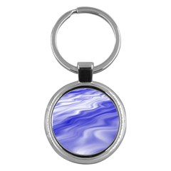 Wave Key Chain (round) by Siebenhuehner