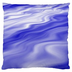 Wave Large Cushion Case (single Sided)  by Siebenhuehner