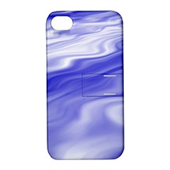 Wave Apple Iphone 4/4s Hardshell Case With Stand by Siebenhuehner