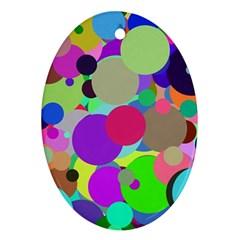 Balls Oval Ornament by Siebenhuehner