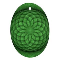 Design Oval Ornament (two Sides) by Siebenhuehner