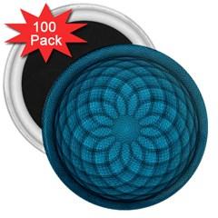 Spirograph 3  Button Magnet (100 Pack) by Siebenhuehner
