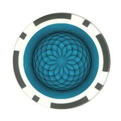 Spirograph Poker Chip (10 Pack) by Siebenhuehner