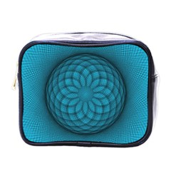 Spirograph Mini Travel Toiletry Bag (one Side)