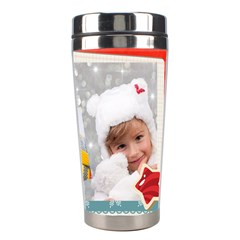 Christmas By Merry Christmas   Stainless Steel Travel Tumbler   5hto18ewukcm   Www Artscow Com Right