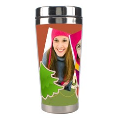 Christmas By Merry Christmas   Stainless Steel Travel Tumbler   B43bxqiobkgy   Www Artscow Com Left