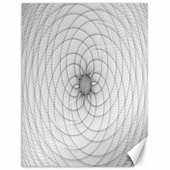 Spirograph Canvas 18  X 24  (unframed) by Siebenhuehner