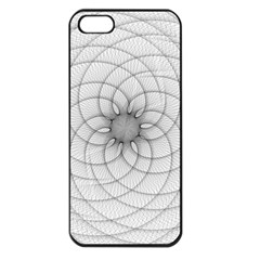 Spirograph Apple Iphone 5 Seamless Case (black)