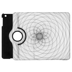 Spirograph Apple Ipad Mini Flip 360 Case by Siebenhuehner