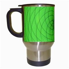 Spirograph Travel Mug (White) by Siebenhuehner