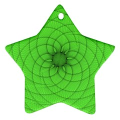 Spirograph Star Ornament (two Sides) by Siebenhuehner