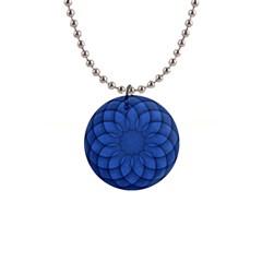 Spirograph Button Necklace by Siebenhuehner