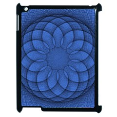 Spirograph Apple Ipad 2 Case (black) by Siebenhuehner