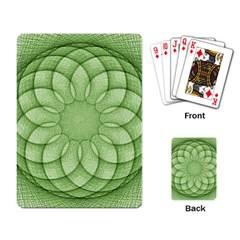 Spirograph Playing Cards Single Design by Siebenhuehner